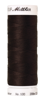 200 m Seralon 1002 Very Dark Brown