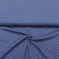 Mobile Preview: rauchblau grau chevron detail Jacquardstrick
