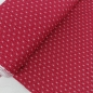 Preview: Interlockjersey Sterne rot-pink