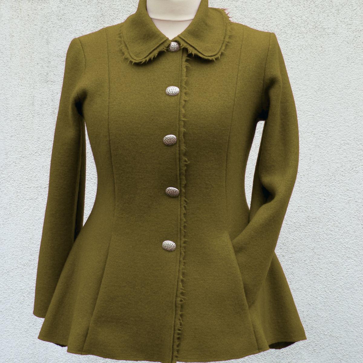 Stofftanten - Schnittmuster für Damen ausgestellte Jacke