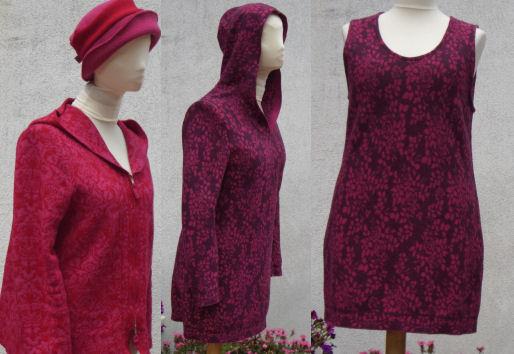 Stofftanten - Schnittmuster Jacke mit Kapuze, Pullover, Kleid